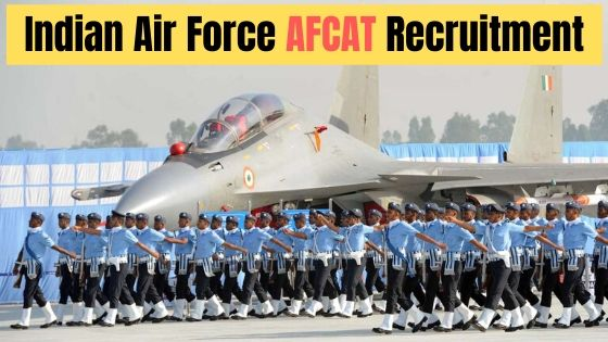 Indian Air Force AFCAT Recruitment