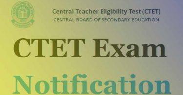 CTET ka Notification 2021
