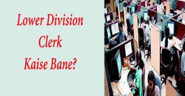 Lower Division Clerk Kaise Bane